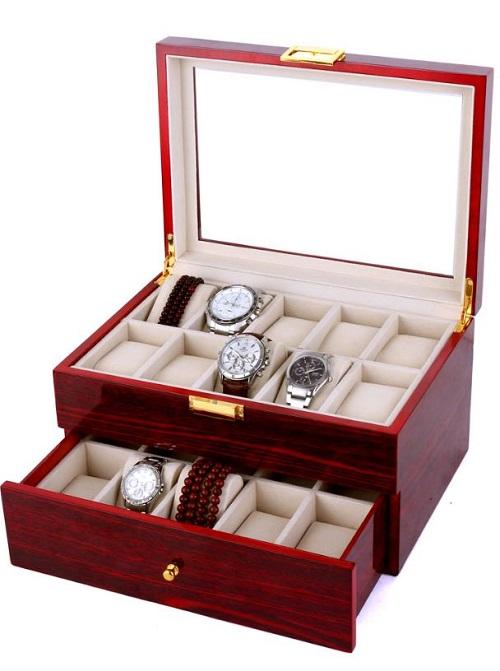Đây là những mẫu hộp đựng đồng hồ bằng gỗ được ưa chuộng nhất năm - Hình 1