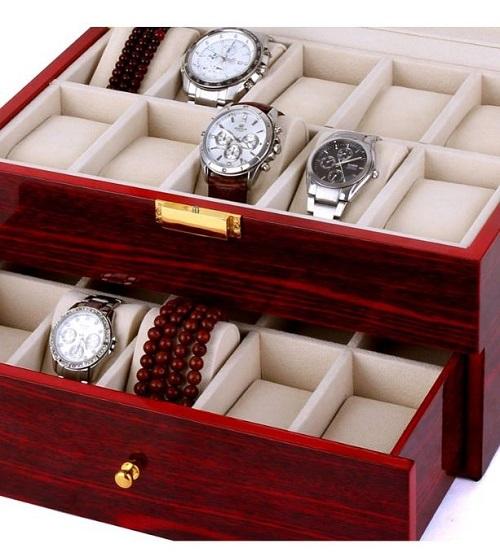 Đây là những mẫu hộp đựng đồng hồ bằng gỗ được ưa chuộng nhất năm - Hình 6