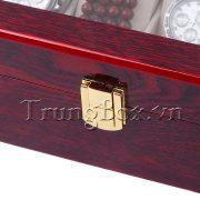 Hộp Đựng Đồng Hồ 12 Chiếc Bằng Gỗ Sơn Mài - Mã 514   TrungBox - Hình 4