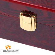 Hộp Đựng 8 Kính Mát Vỏ Gỗ Mã 926 - Hộp đựng kính, hộp đựng kính mắt vỏ gỗ - Hình 3