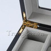 Hộp Đựng Đồng Hồ 12 Ngăn Vỏ Gỗ Sơn Mài - Mã 534X   TrungBox - Hình 5
