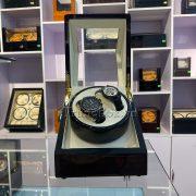 Hộp Lắc Đồng Hồ 2 Cơ Vỏ Gỗ Sơn Mài - Mã 820EW   TrungBox - Hình 4