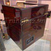Hộp Lắc Đồng Hồ 2 Cơ Vỏ Gỗ Sơn Mài - Mã 820EW   TrungBox - Hình 8
