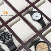 Khay Đựng Đồng Hồ 24 Ngăn Bằng Gỗ Mã 324 - Khay đựng đồng hồ bằng gỗ - Hình 2