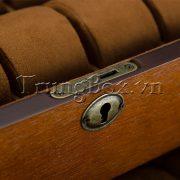 Hộp Đựng Đồng Hồ 20 Ngăn Vỏ Gỗ Veneer Ash Cao Cấp - Mã 545 | TrungBox - Hình 9