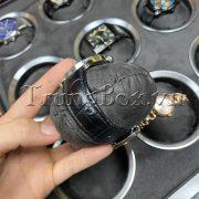 Hộp Đựng Đồng Hồ 9 Ngăn Vỏ Gỗ Sơn Mài Vân Gỗ Đàn Hương Đen - Mã 509EGC   TrungBox - Hình 11