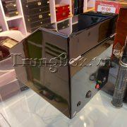 Hộp Lắc Đồng Hồ 2 Cơ 3 Trưng Bày Vỏ Gỗ Sơn Mài (Đèn LED) - Mã 823BB   TrungBox - Hình 7