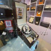 Hộp Lắc Đồng Hồ 2 Cơ 3 Trưng Bày Vỏ Gỗ Sơn Mài (Đèn LED) - Mã 823EW | TrungBox - Hình 3
