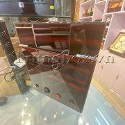 Hộp Lắc Đồng Hồ 2 Cơ 3 Trưng Bày Vỏ Gỗ Sơn Mài (Đèn LED) - Mã 823EW | TrungBox - Hình 7