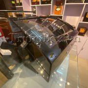 Hộp Đựng Đồng Hồ Cơ 4 Xoay 6 Tĩnh Vỏ Gỗ Sơn Mài (Đèn LED) - Mã 846KBT   TrungBox - Hình 6