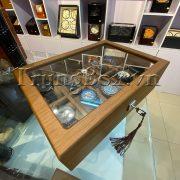 Hộp Đựng Đồng Hồ 10 Ngăn Vỏ Gỗ Veneer Cao Cấp - Mã 552 | TrungBox - Hình 3