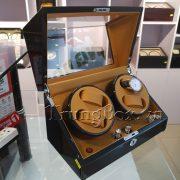 Hộp Xoay Đồng Hồ 4 Cơ Vỏ Gỗ Sơn Mài (Đèn LED) - Mã 840KBC | TrungBox - Hình 4